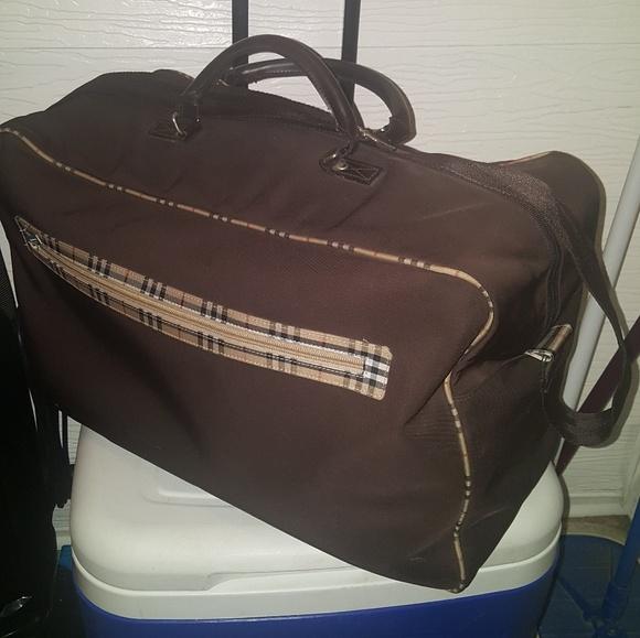 6d0cb60f1a0e Burberry Handbags - Burberry Overnight  Travel Bag Brown with nova ✅